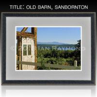 Old Barn, Sanbornton