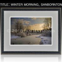 Winter Morning, Sanbornton