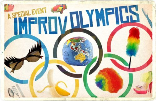 Support Us at Improv Olympics at the Winni Playhouse on Sat 9/22!